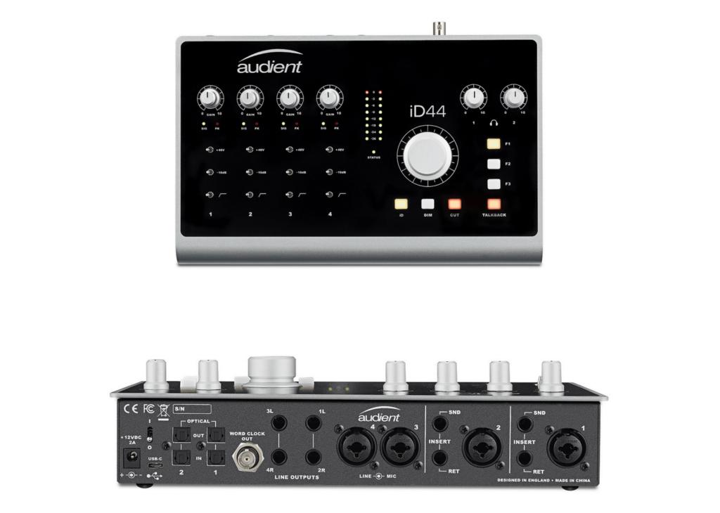 NAMM 2018: Audient Reveal iD44 Desktop Audio Interface
