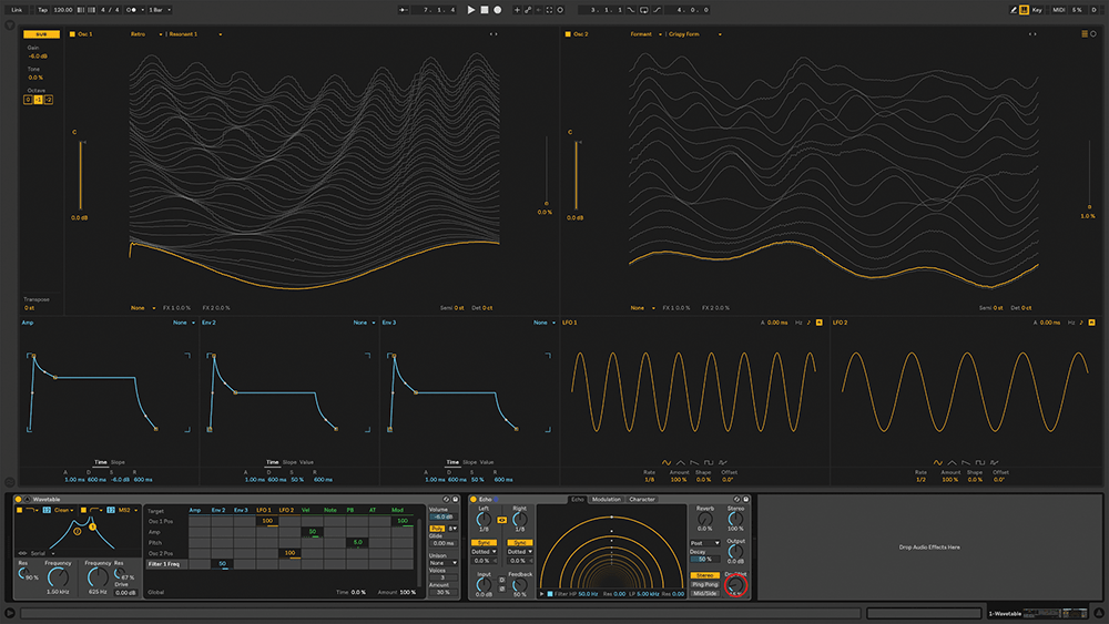 Exploring The New Wavetable Synth In Live 10  Step