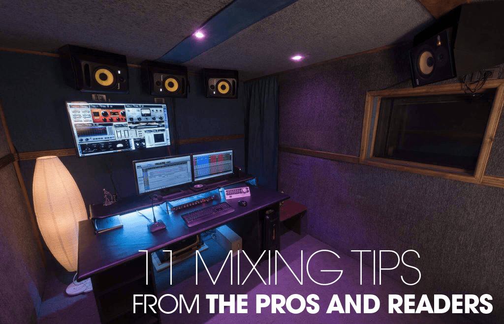 mixing tips