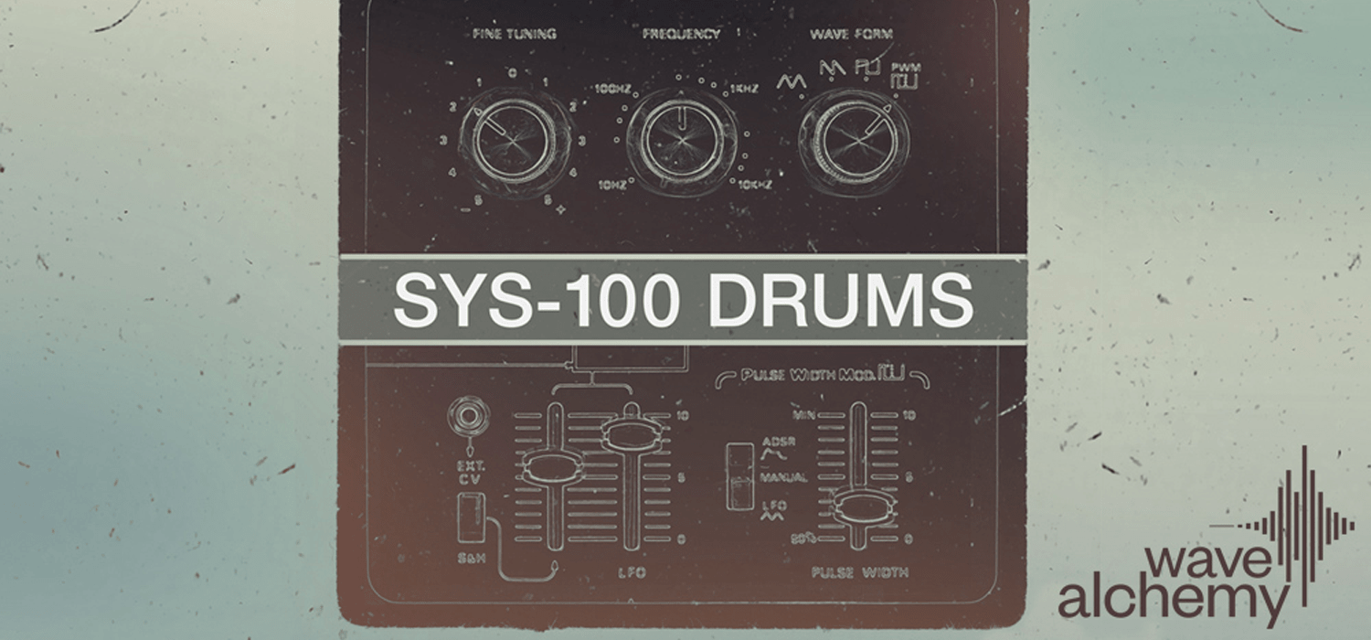 Wave Alchemy's SYS-100 Drums takes its cues from classic Roland synth