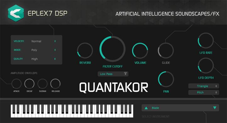 Create Futuristic, Sci-Fi Soundscapes With Quantakor