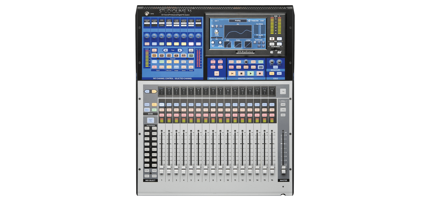 PreSonus StudioLive 16 Series III Review - The Whole Package