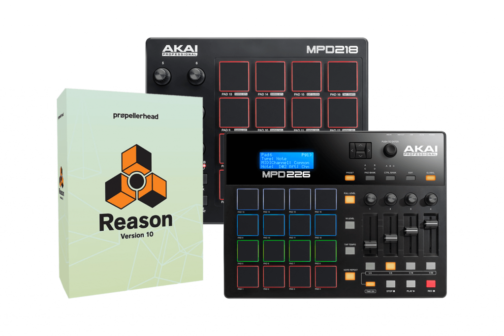 Reason Lite is now included with selected Akai Pro Controllers