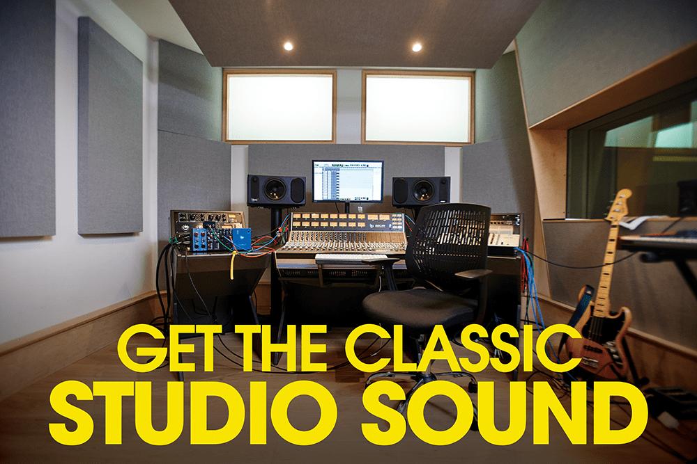classic studio sound