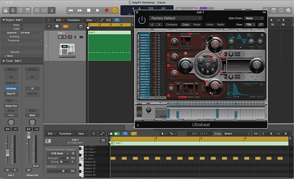 electro bassline