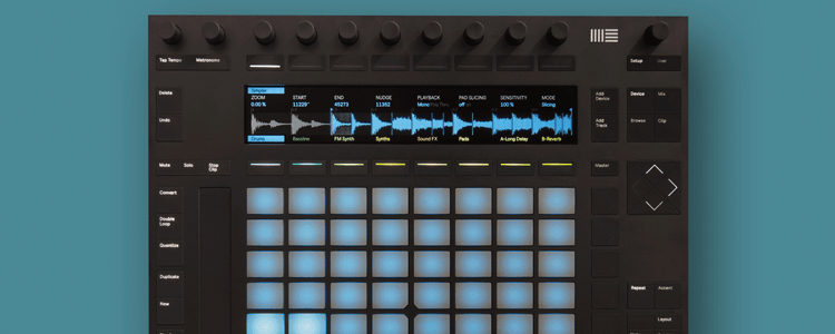 Using Push as a Creative Tool with Ableton Live