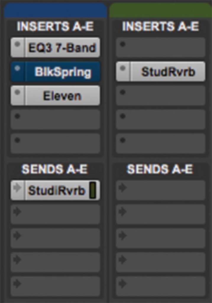 reverb in pro tools