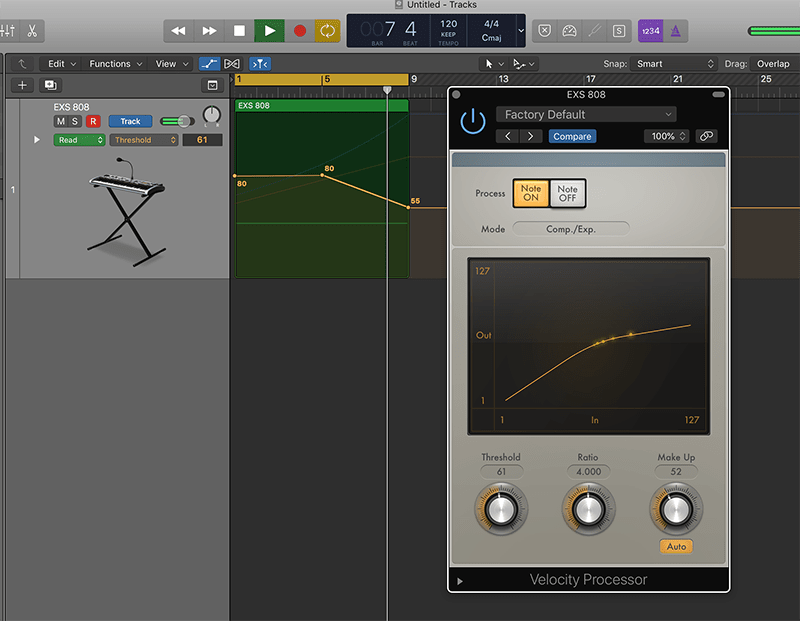create 808 snare rolls