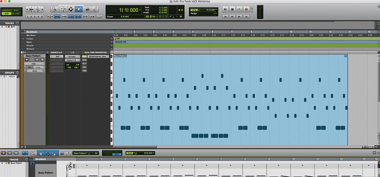 Using MIDI in Pro Tools 2018