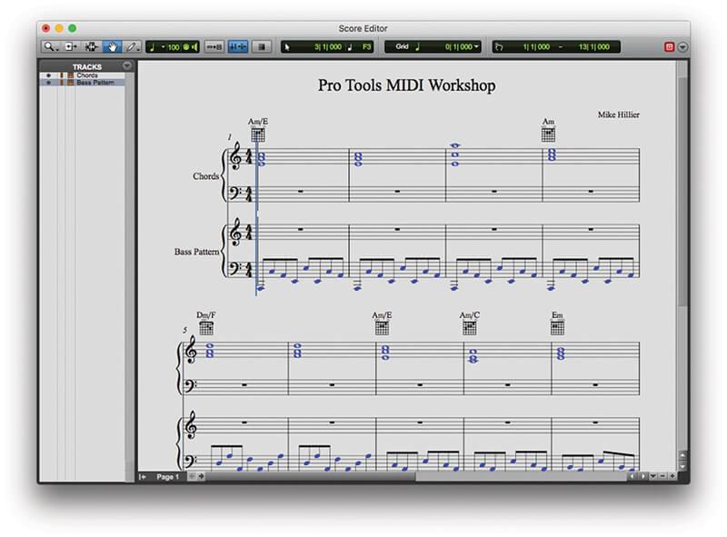using MIDI in Pro Tools