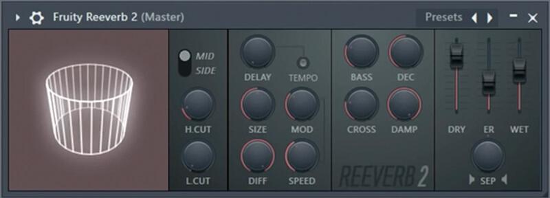 FL Studio 20 - Fruity Reverb 2