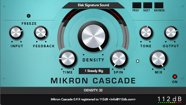Best Gear for Ambient Music - 112dB Mikron Cascade