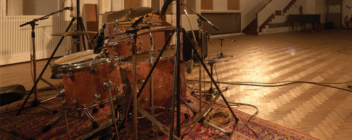 Recreating the 1960s Abbey Road Drum Sound - Featured Image