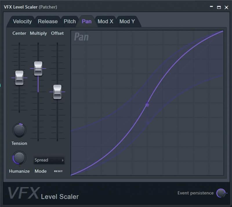 fl studio 20 - vfx level scaler