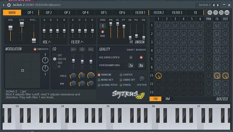 FL Studio 20 - sytrus screenshot
