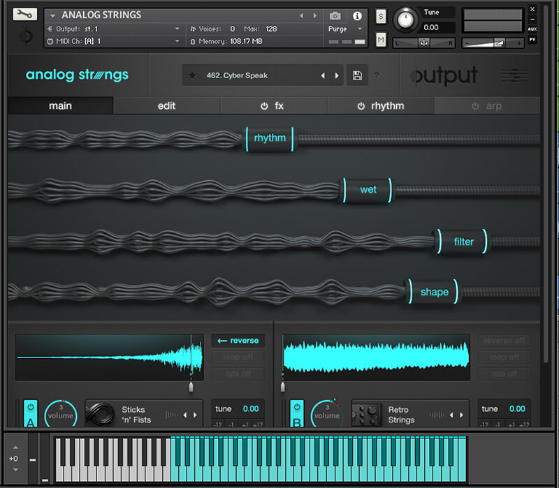 Best Gear for Ambient Music - Output Analogue Strings