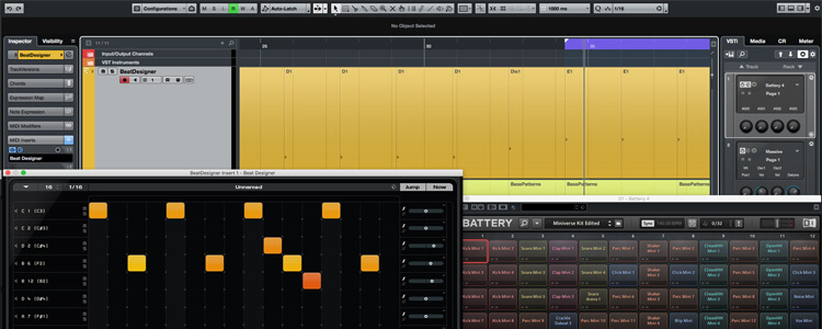 Beat and Pattern Sequencers in Cubase 9.5 - Featured image