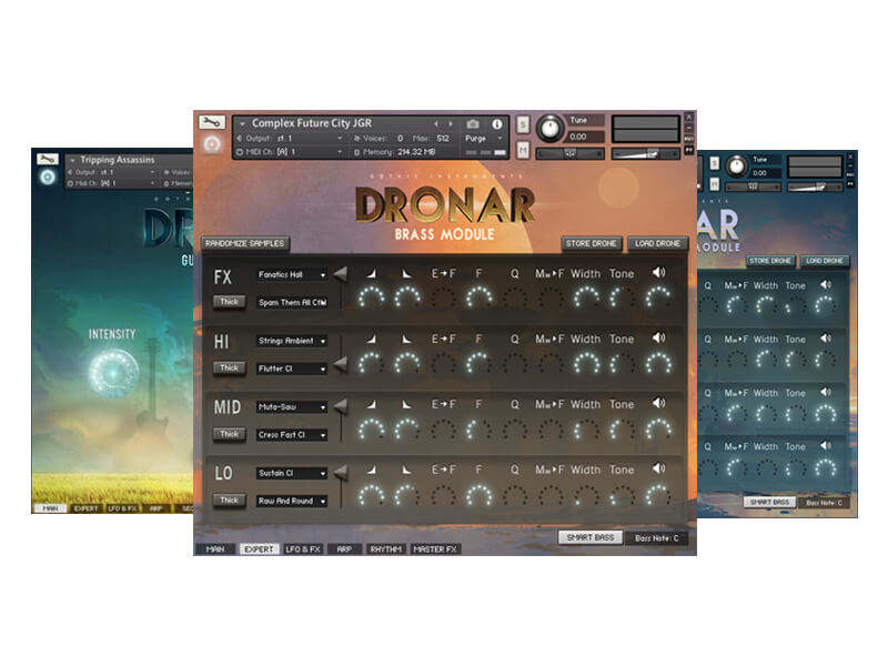 Best Gear for Ambient Music - The Dronar Collection