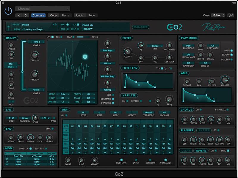 Go2 - Main GUI screenshot