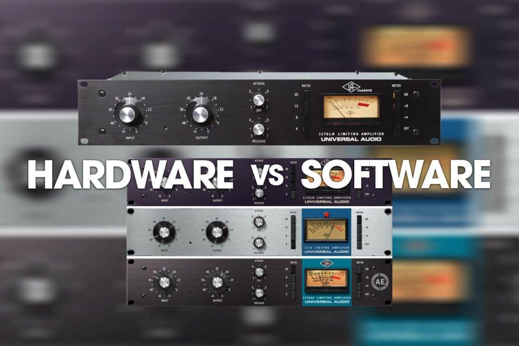 Hardware vs Software: Universal Audio's UREI 1176 Compressor/Limiter