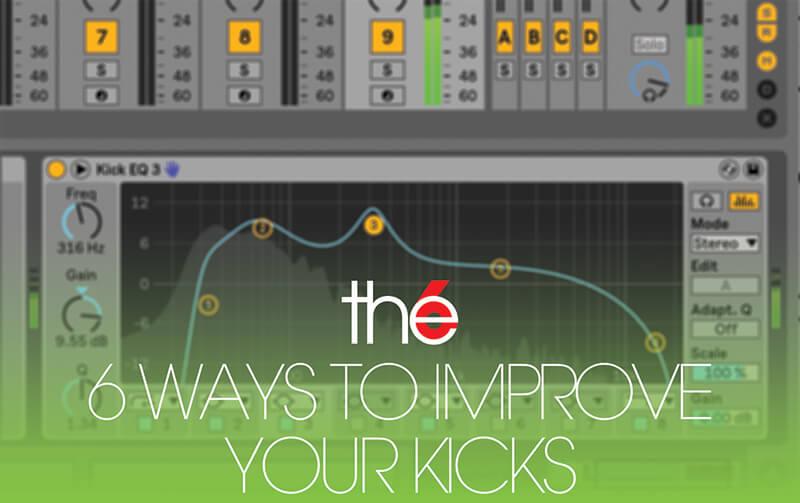 6 ways to improve your kick drum sound