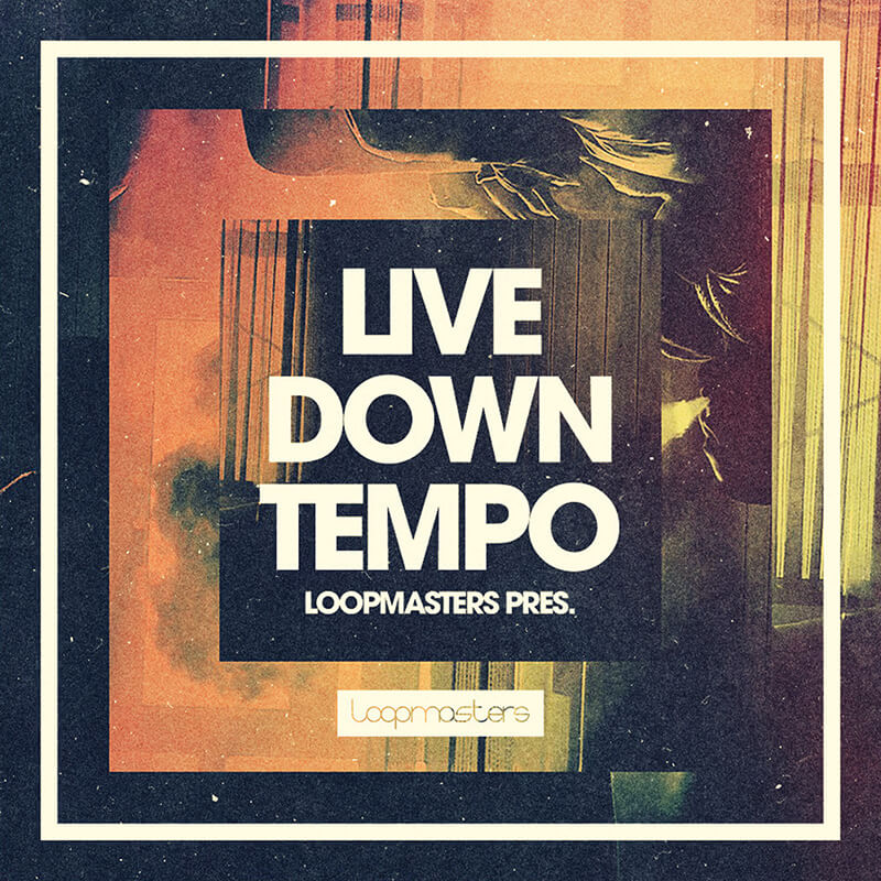 Loopmasters Live Downtempo cover