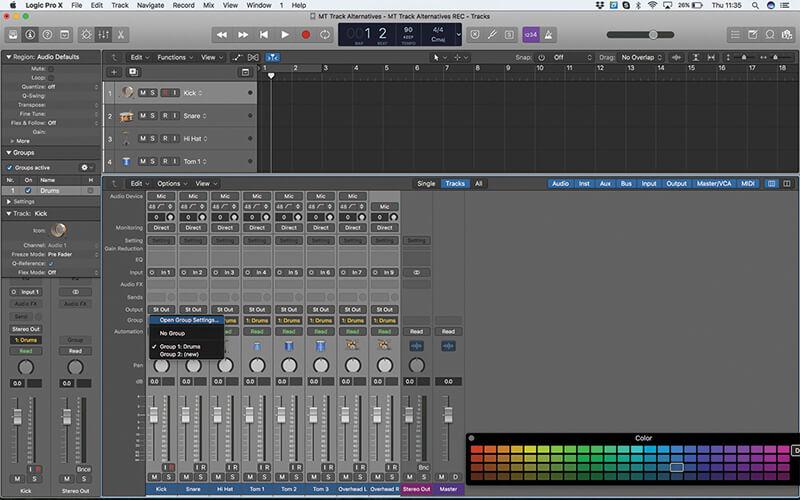 Track Alternatives in Logic Pro X - Step 7