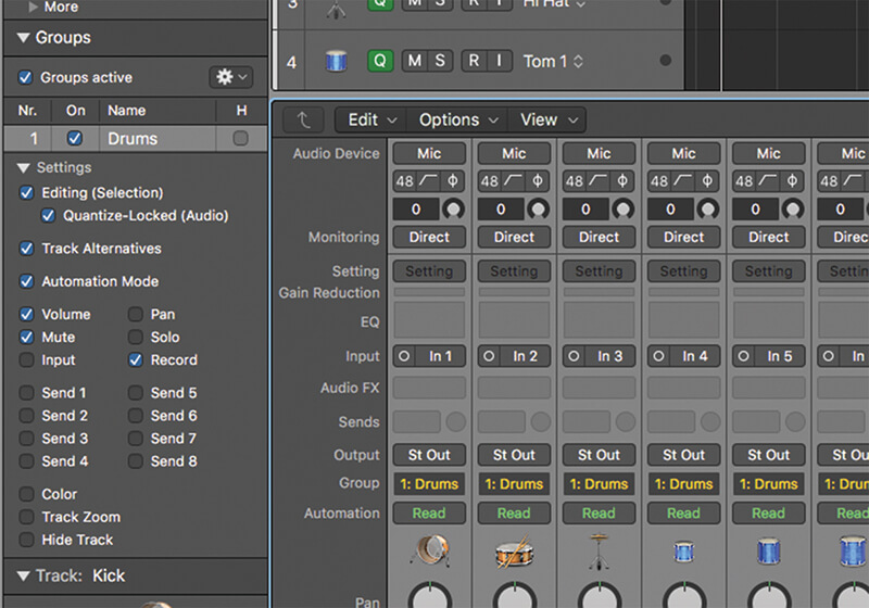 Track Alternatives in Logic Pro X - Step 8