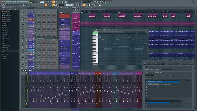 FL Studio 20 - main screenshot