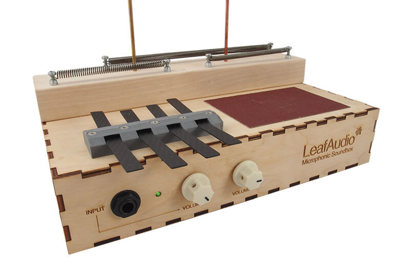 Leaf Audio Microphonic Soundbox - Hero
