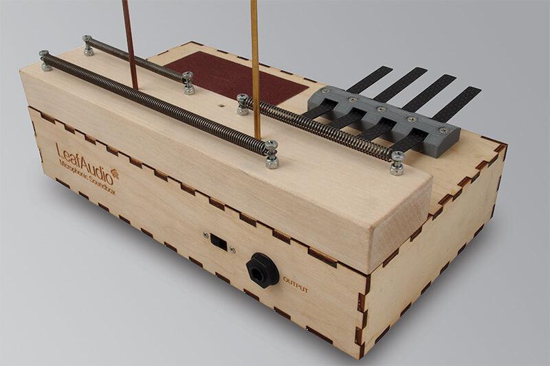 Leaf Audio Microphonic Soundbox - Rear