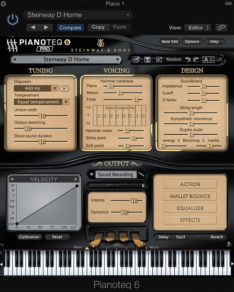 6 of the Best: Hi-Tech Pianos - Moddart Pianoteq 6