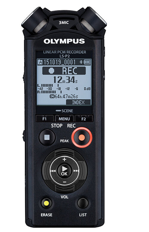 Best Gear for Ambient Music - Olympus LS Pocket LS-P2