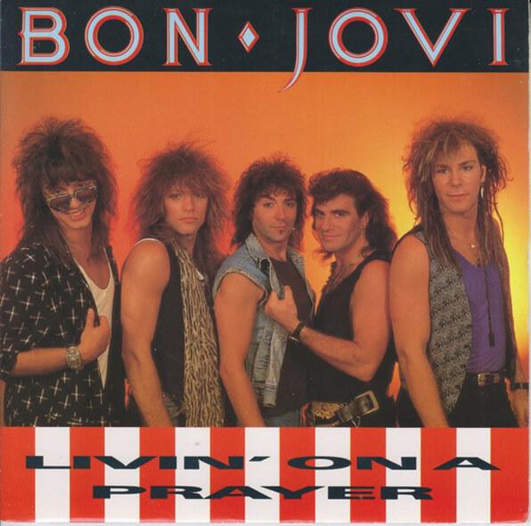 The history of the Vocoder - Bon Jovi 'Livin' On A Prayer artwork