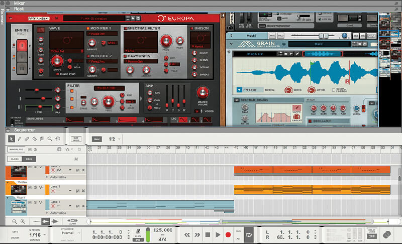 Best Gear for Ambient Music - Propellerhead Reason 10