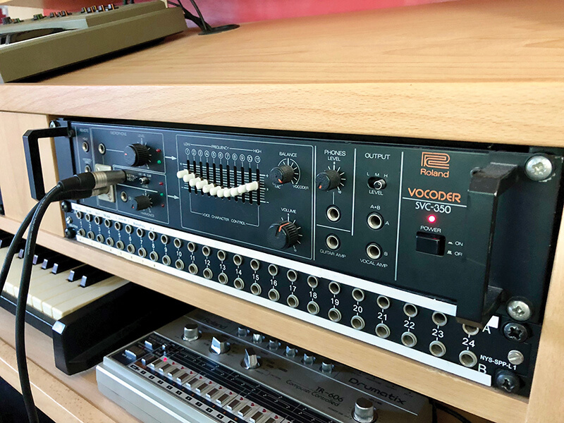 The history of the Vocoder - Roland SVC-350