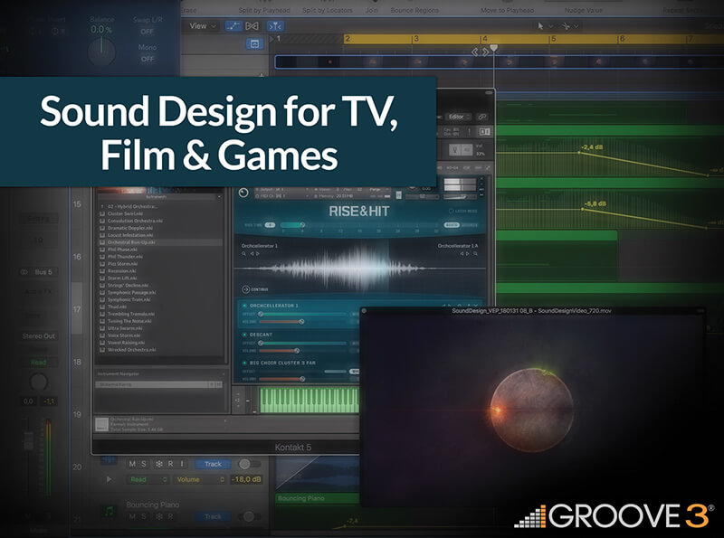 Sound Design for TV, Film and Games cover