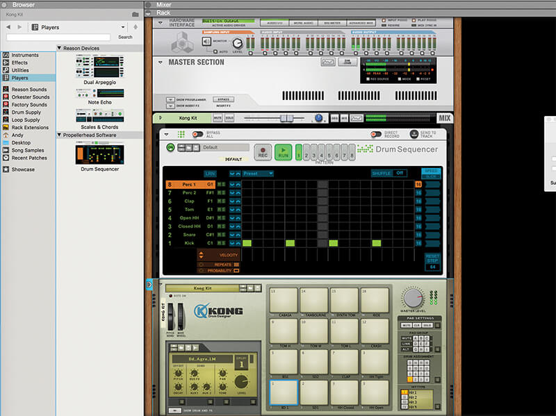 Mastering Reason 10.1's New Drum Sequencer - Step 2