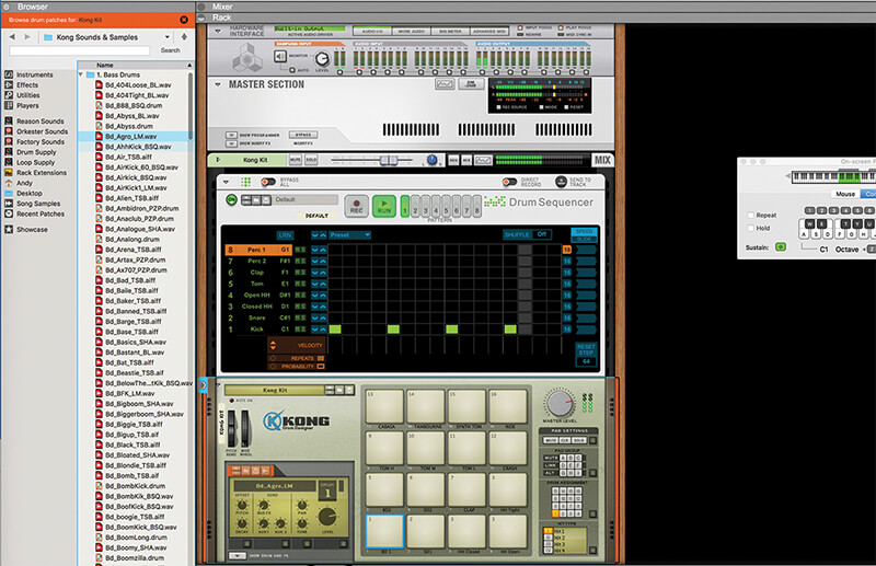 Mastering Reason 10.1's New Drum Sequencer - Step 3