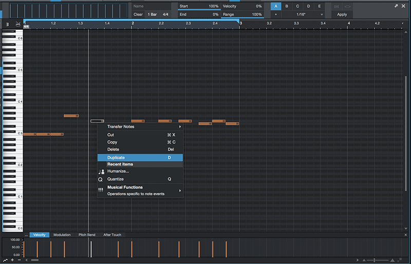 Basic song arranging in Studio One - Step 3