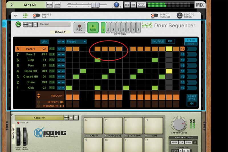 Mastering Reason 10.1's New Drum Sequencer - Step 5