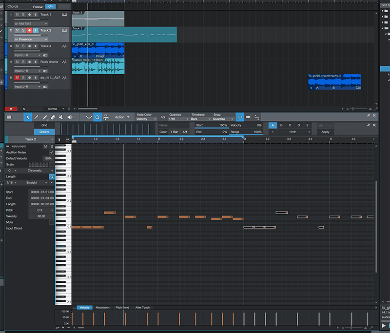Basic song arranging in Studio One - Step 5