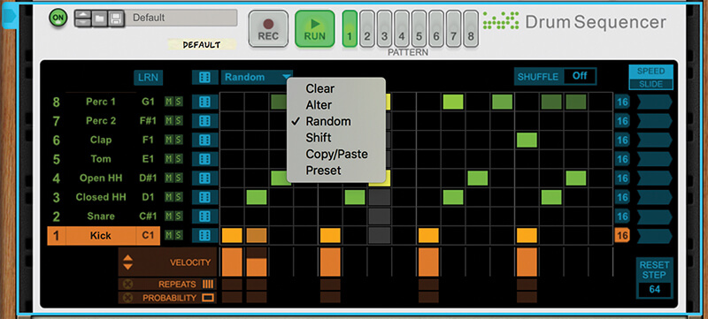 Mastering Reason 10.1's New Drum Sequencer - Step 7