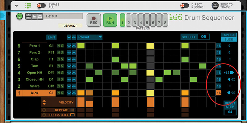 Mastering Reason 10.1's New Drum Sequencer - Step 8