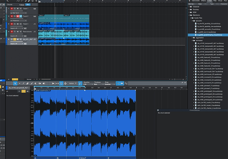 Basic song arranging in Studio One - Step 8