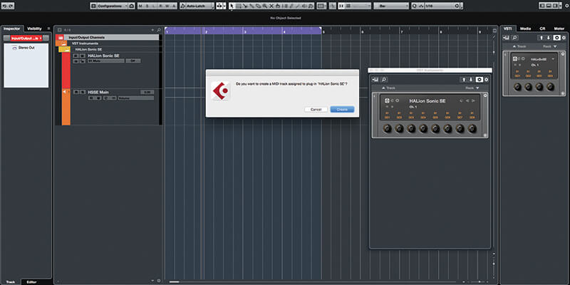 Beat and Pattern Sequencers in Cubase 9.5 - Step 2