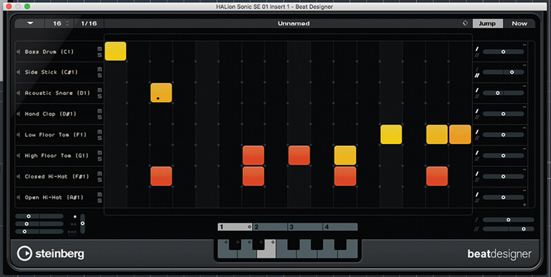 Beat and Pattern Sequencers in Cubase 9.5 - Step 17