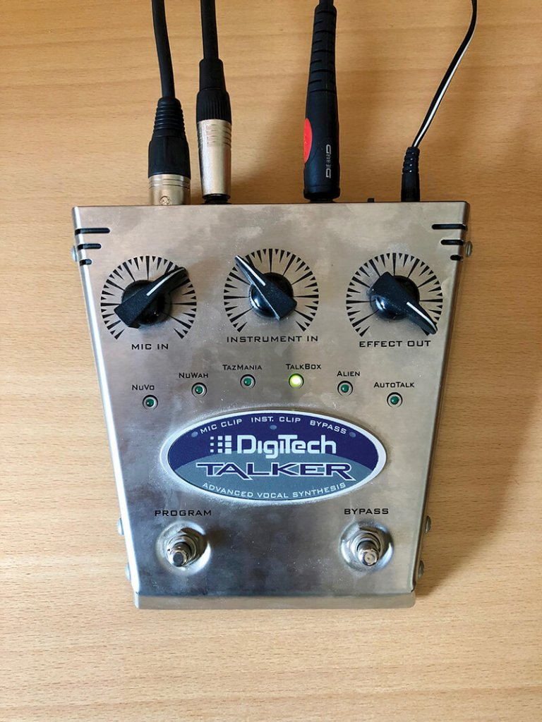 The history of the Vocoder - Digitech Talker