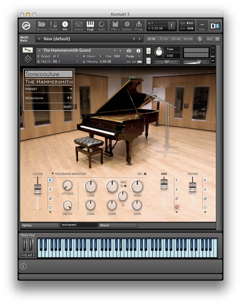 6 of the Best: Hi-Tech Pianos - Soniccouture The Hammersmith