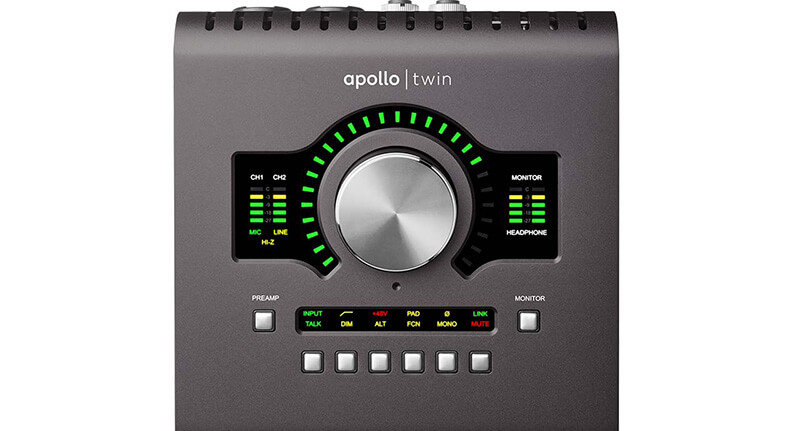Interfaces for Live Performance - Apollo Twin